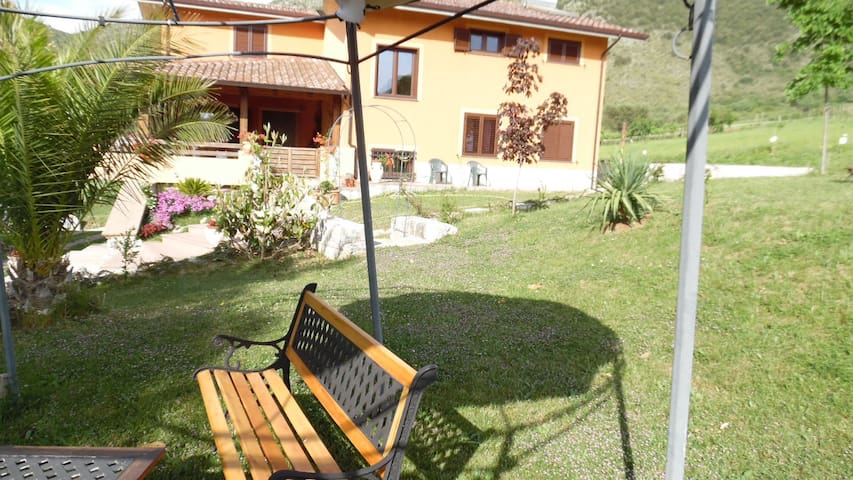 Entire apartment at the foot of the Pollino