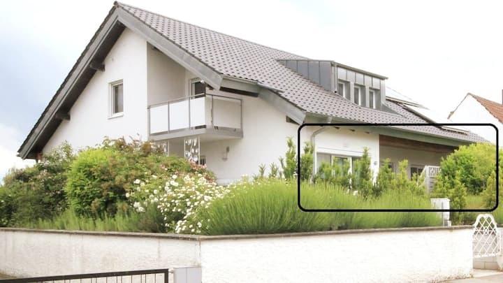 Zentral gelegene Ferienwohnung in Bad Bergzabern