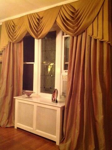 Charming, formal dining room.