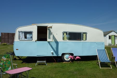 Gloria the vintage caravan