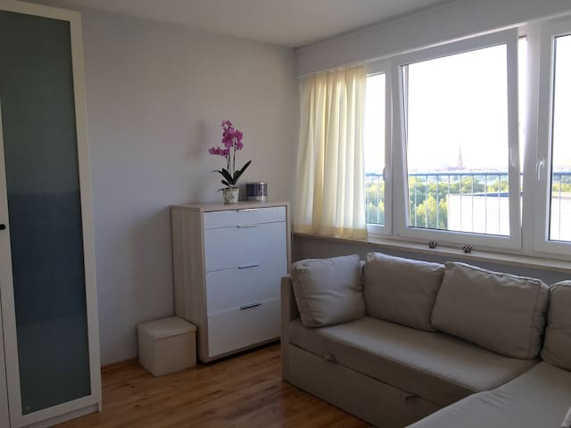 Beautiful room with stunning view in Kreuzberg - Berlin - Apartment