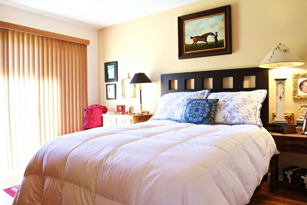 Master Bedroom featuring a queen size bed