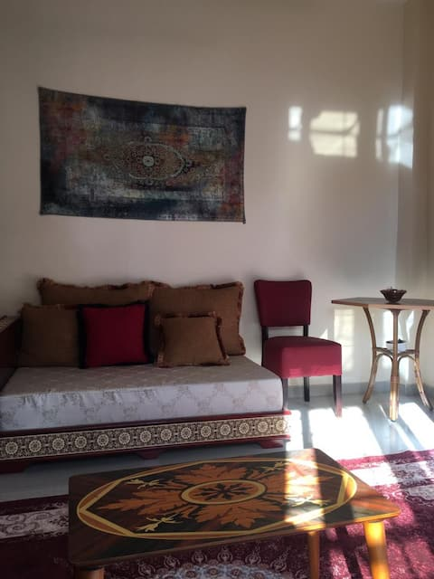 Appartement suite junior avec jardin à Sangalkam