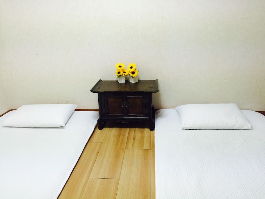 Private double room(ondol)