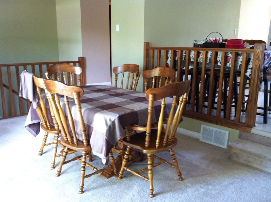 Extra dining area