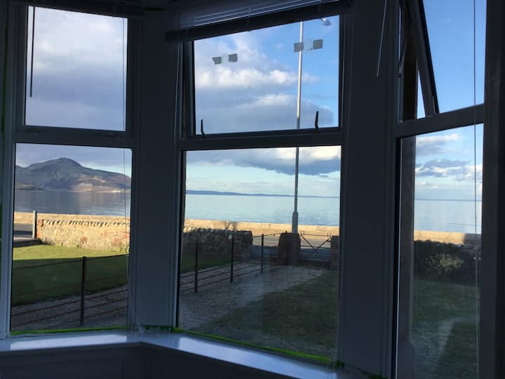 Isle of Arran, stunning views over Whiting Bay