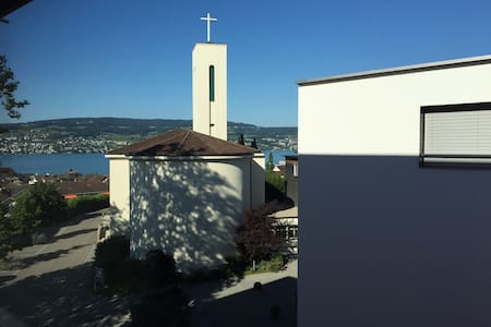 Room in a shared flat for 1-2 pax - Horgen - Apartemen