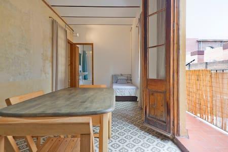 Quiet, comfortable, near the sea - Barcelona - Wohnung