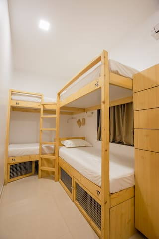 Nap On Map Hostel 8 BED FEMALE DORM First Floor
