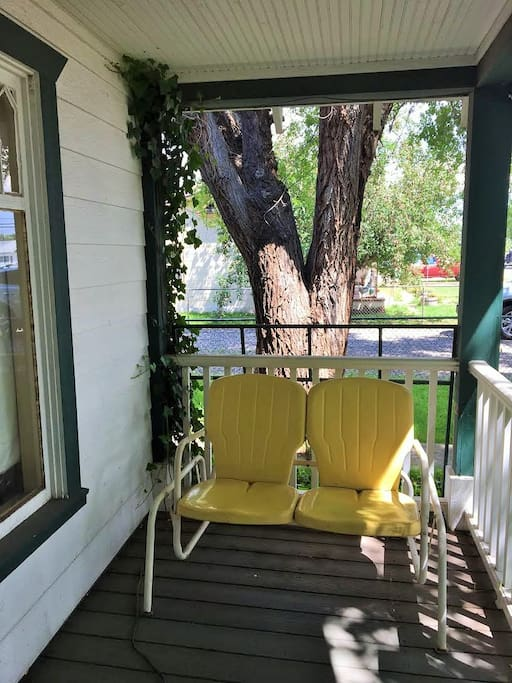 Peaceful Front Porch