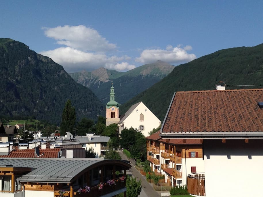 Panorama dall'appartamento- View from apartment