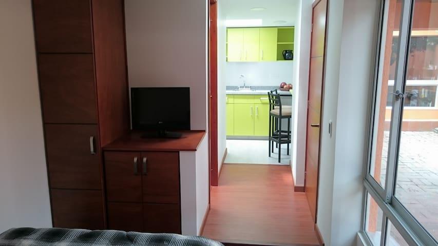 Apartaestudio indepediente amoblado - Bogota - Appartement