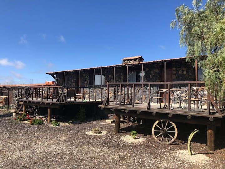 Acogedoras cabañas cerca del Teide