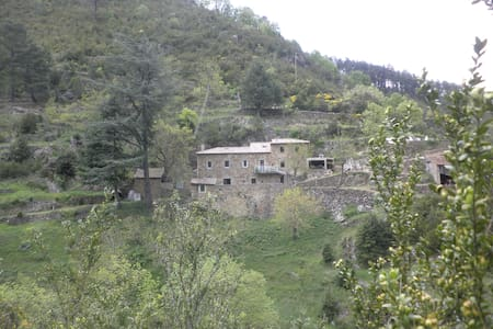 Le Ranc du prieur maison isolée orientée plein sud