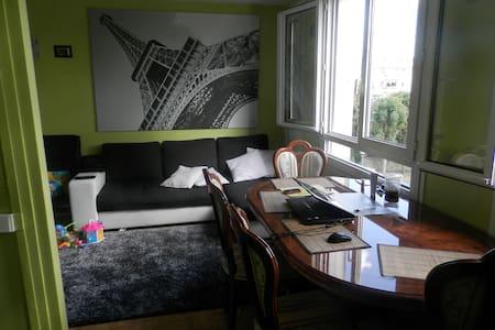 un f3 trés spacieux et confortable - Fontenay-sous-Bois - Leilighet