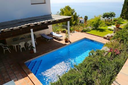 Villa Torre Loma, fantastic views... - Almuñécar