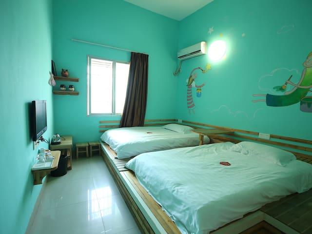 YES!海边上的特色双床房 - Xiamen - Bed & Breakfast
