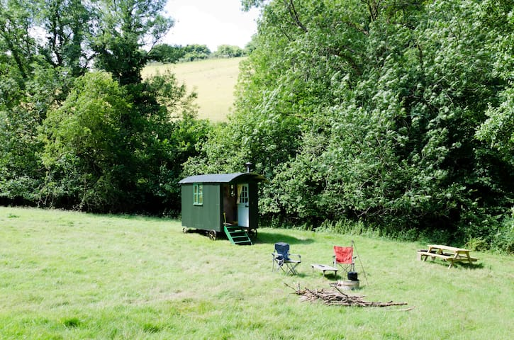 Shepherds Hut, West Somerset, Exmoor