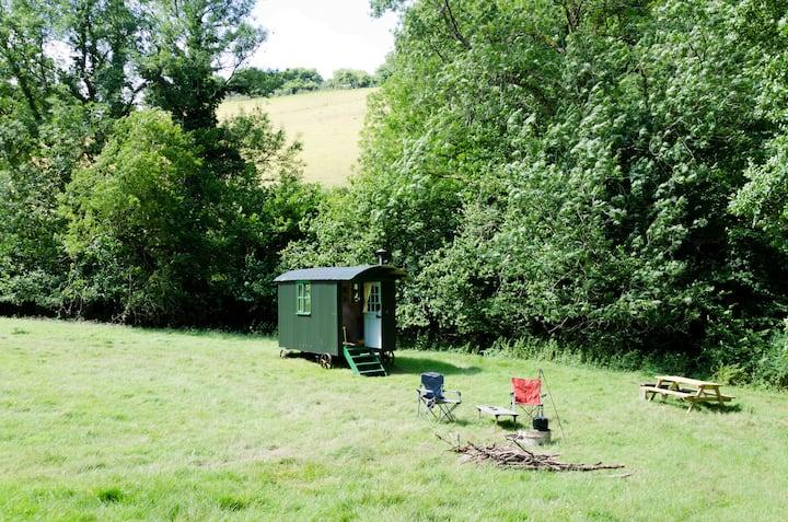 Shepherds Hut, West Somerset, Exmoor