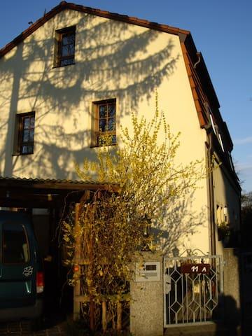 Zentrales Haus/begrünteTerrassen - Neurenberg - Huis