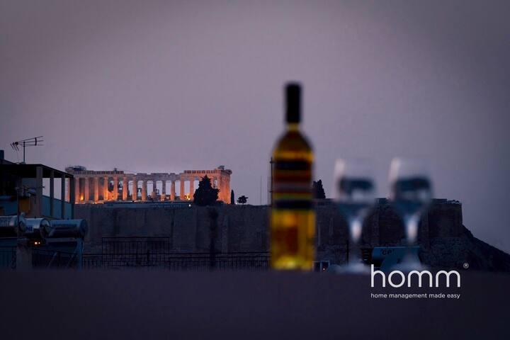 Magnificent 76m² homm Penthouse 6th,Acropolis View