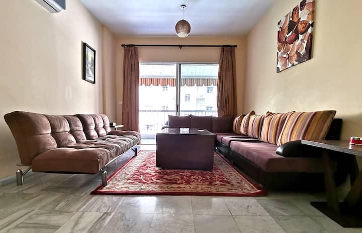 Hamra Main Street fully furnished Apartment