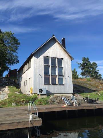 Stockholm archipelago, Norra Lagnö - Gustavsberg - Villa