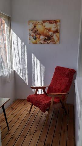 Уютные, светлые апартаменты.