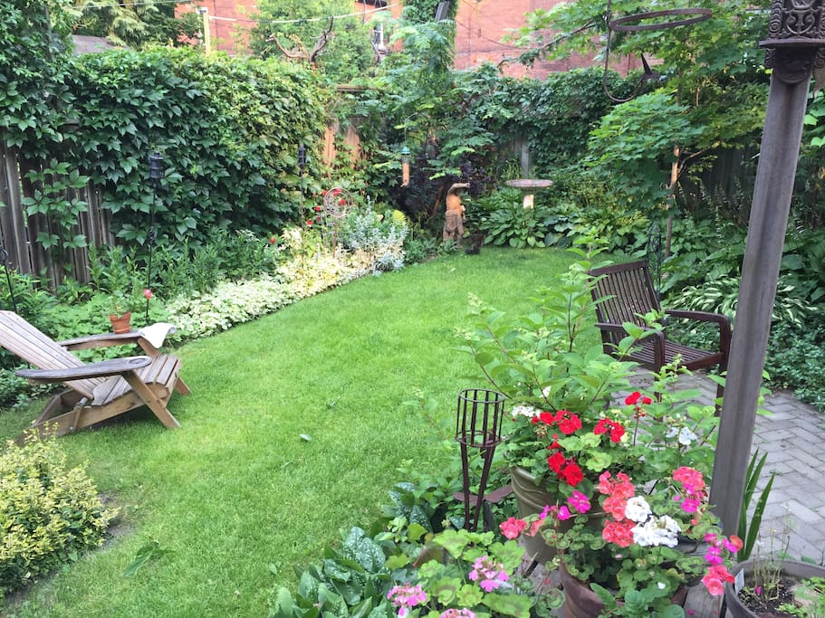 Private back garden oasis