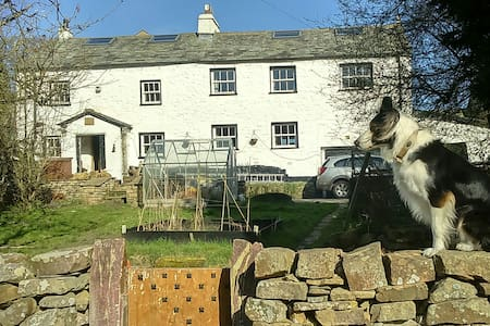 Kirkby Lonsdale 1740 farm House room £45pn £270pw - Hutton Roof