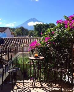 A charming house in central Antigua