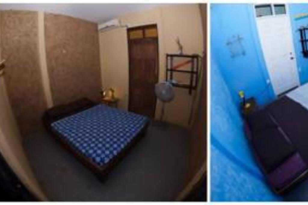 Habitaciones privadas con baño privado