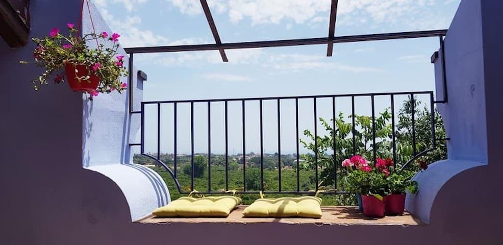 Villa Etna Suite vista mare