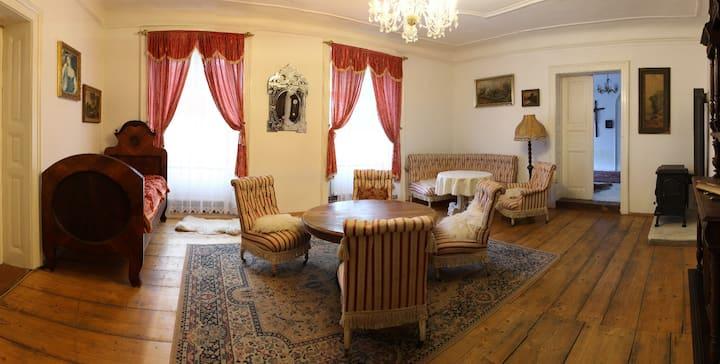 Luxury 3-room Family Apartment at Úsobí Castle