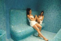 The steam bath