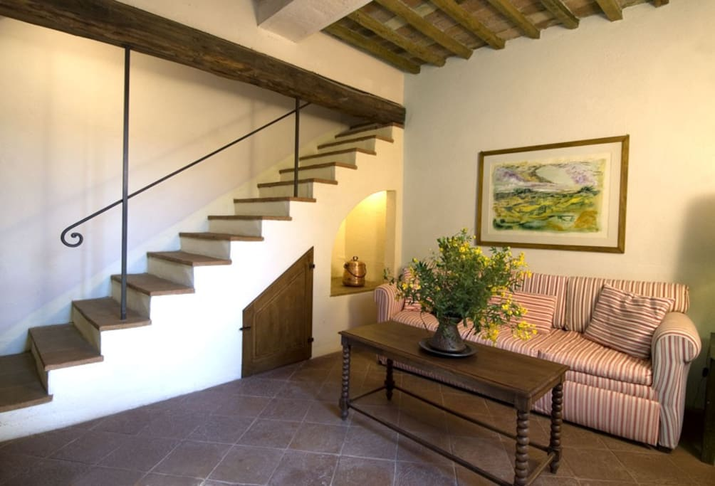 Casa Clementina - sitting room at the first floor