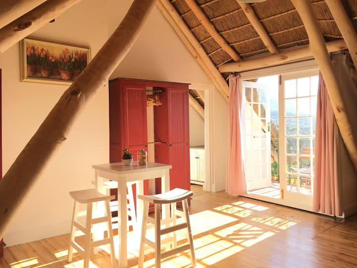 Red Squirrel Loft. Your home inside a vineyard.