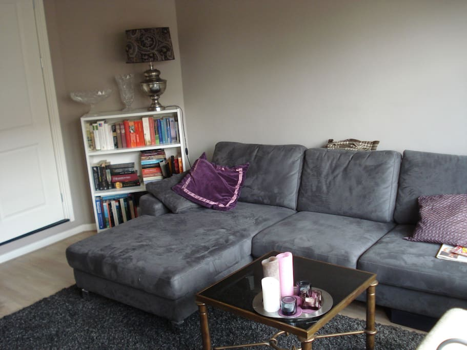 My taupe grey living room :-)