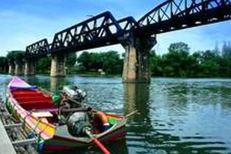 River Kwai Bridge-Bogie Train - Thung Thong - อพาร์ทเมนท์