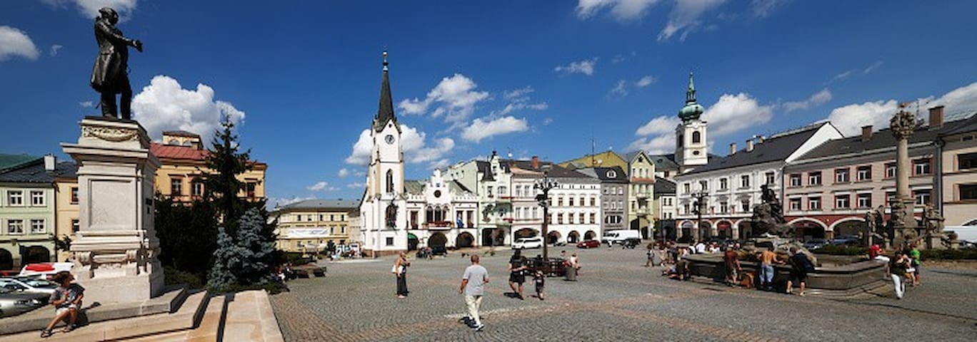 Trutnov centrum :) - Trutnov - Pis