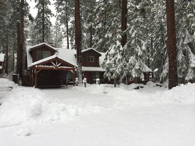 Snowy Front of House (Winter 2017)