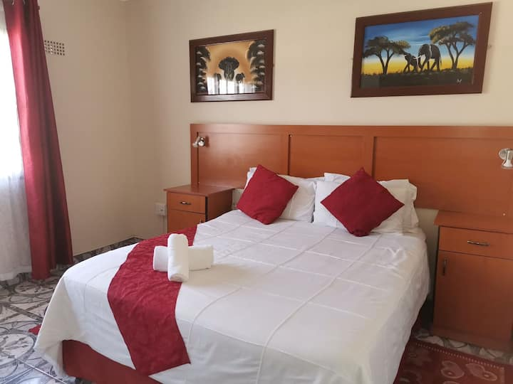 Suitable accommodation for travellers - (Room 1)