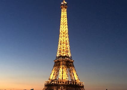 Torre Eiffel Vista Magnífico