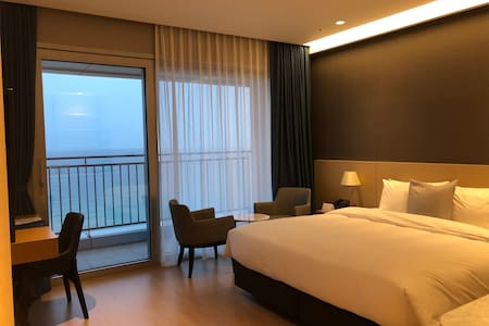 Saint Jonhs Hotel Deluxe-Double Full-Ocean View!!