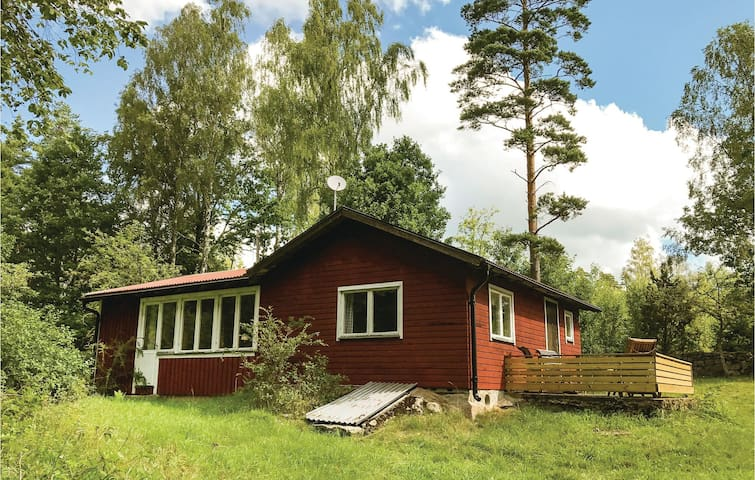Holiday cottage with 2 bedrooms on 70m² in Bräkne Hoby