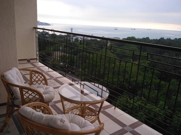 Wonderful apartment with sea views