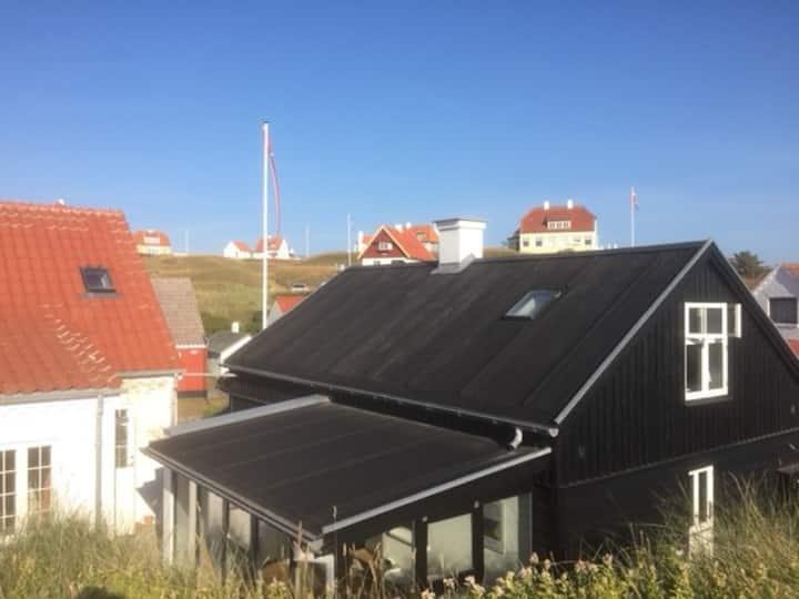 Hus ved hawet i Lønstrup