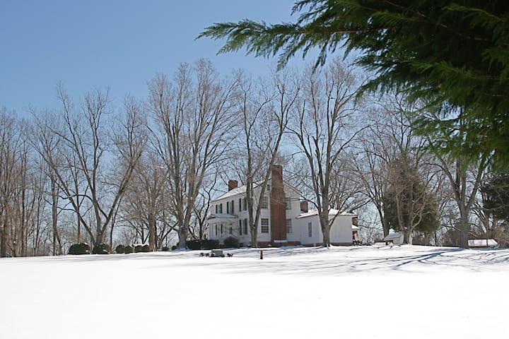 Winter at the Inn.
