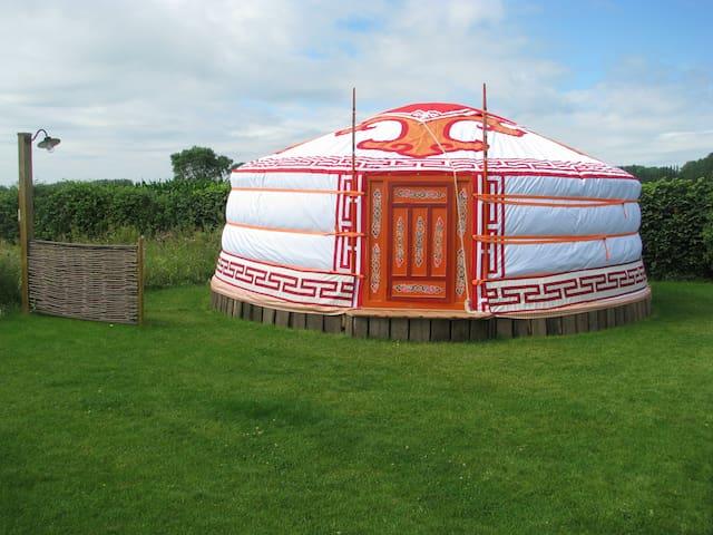 Yurt nabij Brugge - Oostkamp - 蒙古包