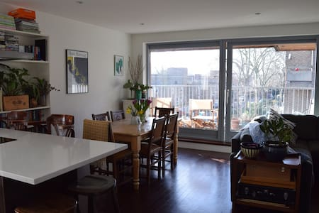 Quiet dbl room + private bathroom - Londres - Apartamento